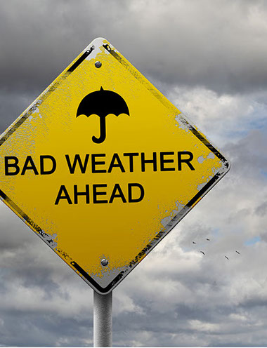 Weather is a common trigger for migraine headache.